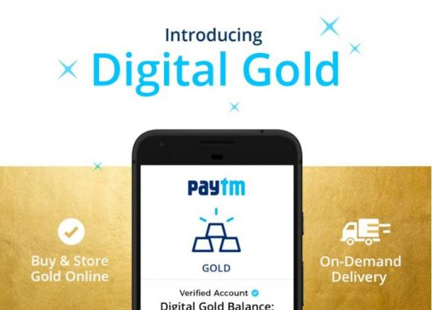 Paytm partners with MMTC-PAMP to launch Digital Gold