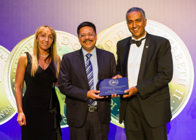 MMTC-PAMP honoured at the Royal Mint's 2015 Annual Supplier Awards